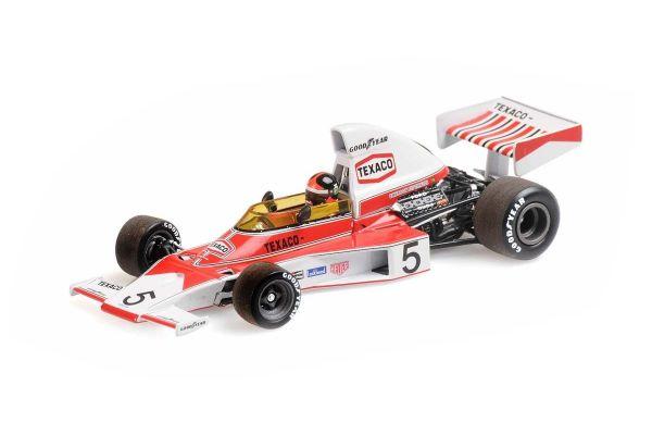 MINICHAMPS 1/43scale McLaren Ford M23 Emerson Fittipaldi 1974 World Champion with Engine  [No.436740005]