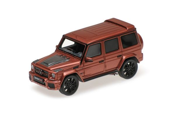 MINICHAMPS 1/43scale BRABUS 850 6.0 BITURBO WIDESTAR AUF BASIS MERCEDES-BENZ – AMG G 63 – 2016 – COOPER METALLIC  [No.437032402]