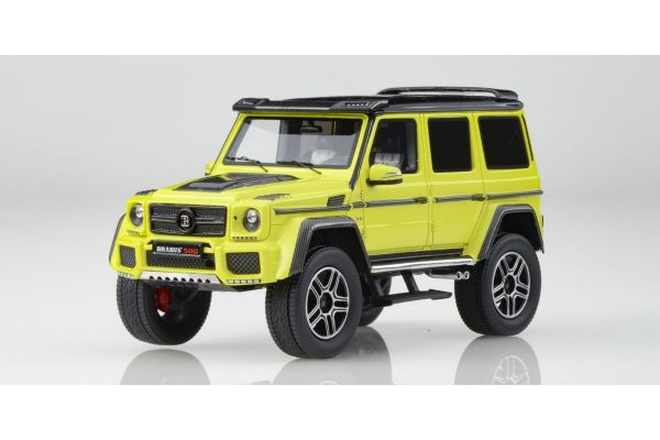 MINICHAMPS 1/43scale BRABUS 4x4² AUF BASIS MERCEDES BENZ G 500 4x4² 2016 YELLOW  [No.437032464]