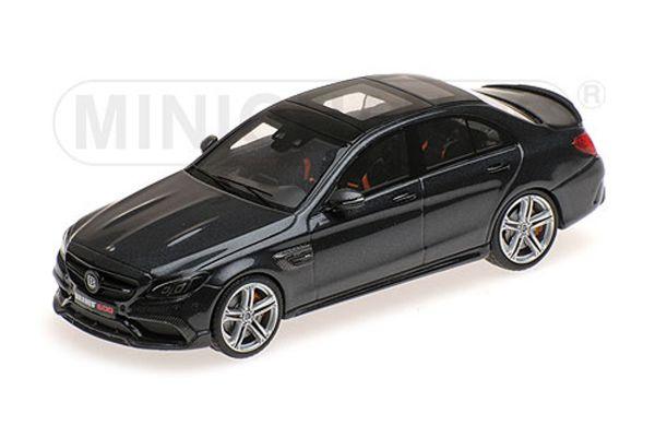 MINICHAMPS 1/43scale BRABUS 600 AUF BASIS MERCEDES AMG C 63 S – 2015 – BLACK  [No.437036100]