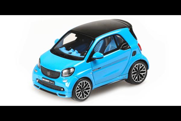 MINICHAMPS 1/43scale Smart Brabus Ultimate 125 2017 Blue  [No.437036201]