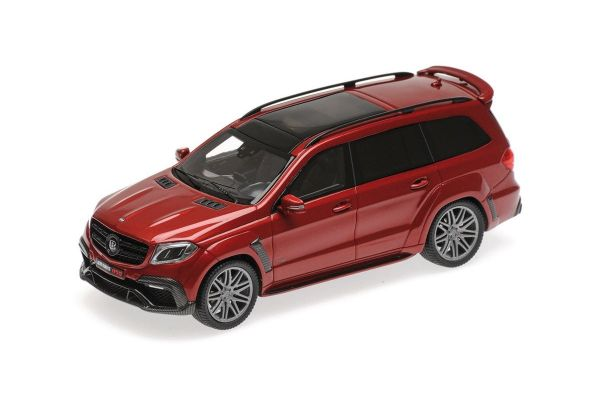 MINICHAMPS 1/43scale BRABUS 850 WIDESTAR XL BASED ON MERCEDES-AMG GLS 63 – 2017 – RED METALLIC  [No.437037362]