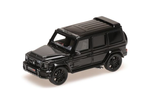 MINICHAMPS 1/43scale BRABUS 900 BASED ON G 65 – 2017 – BLACK  [No.437037400]