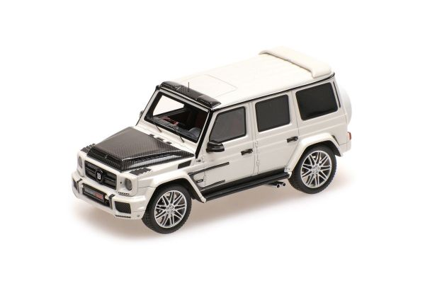 MINICHAMPS 1/43scale BRABUS 900 BASED ON G 65 – 2017 – DIAMANT WEISS  [No.437037402]