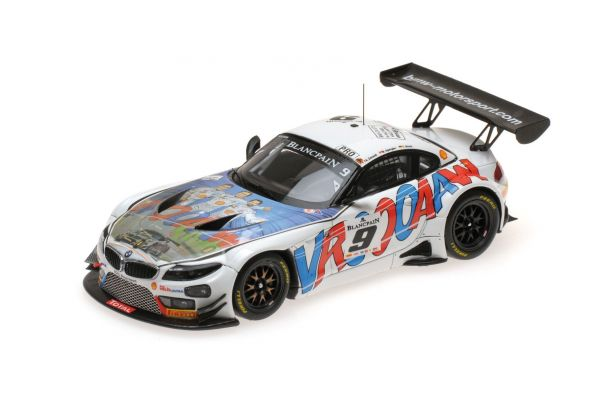 MINICHAMPS 1/43scale BMW Z4 GT3 – ROAL MOTORSPORT – ZANARDI/GLOCK/SPENGLER – 24H SPA 2015  [No.437152559]