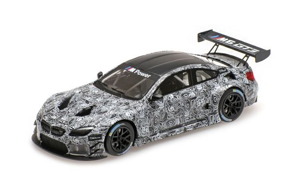 MINICHAMPS 1/43scale BMW M6 GT3 - PRESENTATION - SPA 2015  [No.437152699]