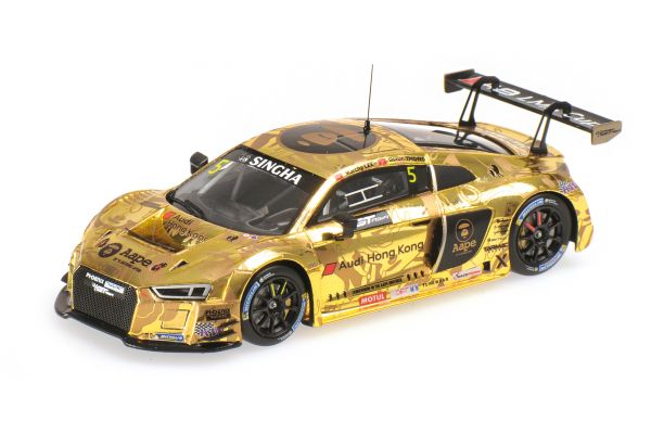 MINICHAMPS 1/43scale AUDI R8 LMS – AAPE / AUDI HONG KONG – M.LEE / S.THONG – GT ASIA 2016 OVERALL 2ND PLACE  [No.437161195]