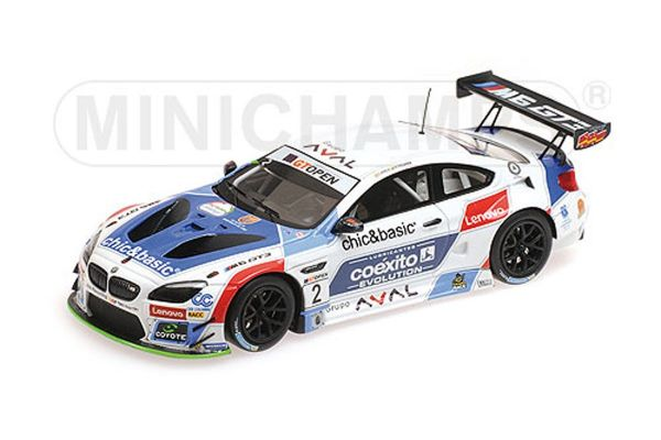 MINICHAMPS 1/43scale BMW M6 GT3 – TEAM TEO MARTIN MOTORSPORT – YACAMÁN/MONJE – INTERNATIONAL GT OPEN 2016  [No.437162652]