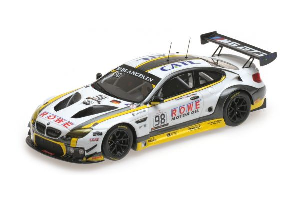 MINICHAMPS 1/43scale BMW M6 GT3 – ROWE RACING – DUSSELDROP/CATSBURG/WERNER – 24H SPA 2016  [No.437162698]
