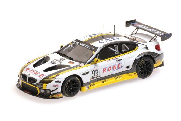 MINICHAMPS 1/43scale BMW M6 GT3 - ROWE RACING - MARTIN/ENG/SIMS - WINNERS 24H SPA 2016  [No.437162699]