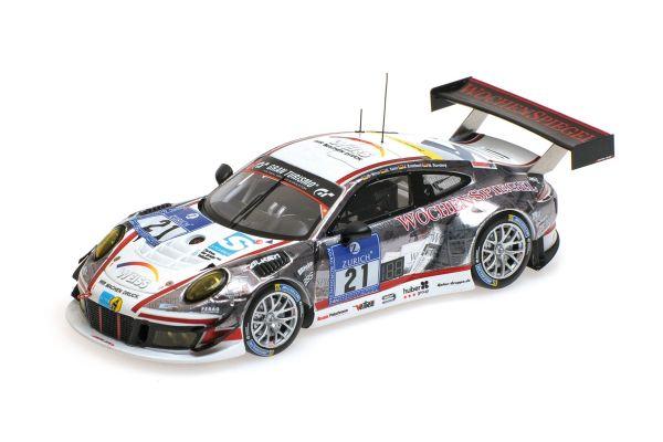 MINICHAMPS 1/43scale PORSCHE 911 GT3 R (991) – MANTHEY RACING – STURSBERG/KRUMBACH/KAINZ/WEISS – 24H NÜRBURGRING 2016  [No.437166021]
