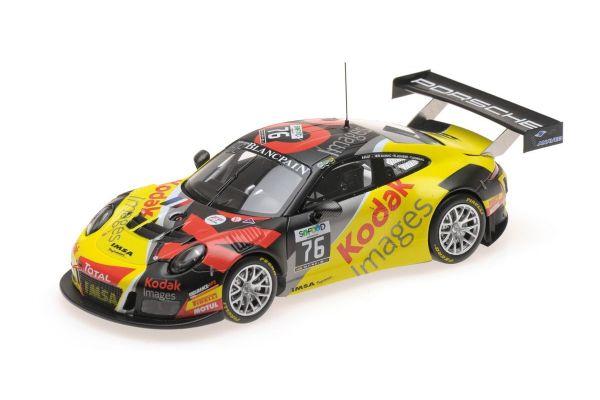 MINICHAMPS 1/43scale PORSCHE 911 GT3 R (991) – TEAM IMSA PERFORMANCE – PILET/NARAC/JOUSSE/CORNAC – 24H SPA 2016  [No.437166076]