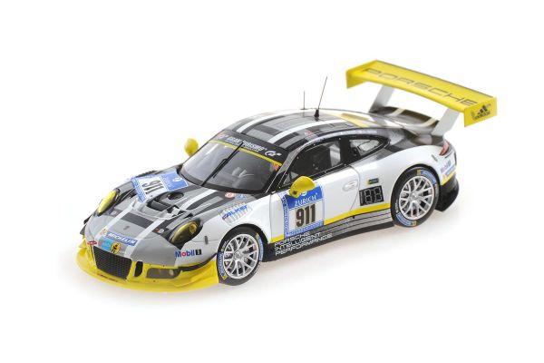 MINICHAMPS 1/43scale Porsche 911 GT3 R (991) TANDY / BAMPER / PILET / ESTRE # 911 Nürburgring 24H 2016  [No.437166611]