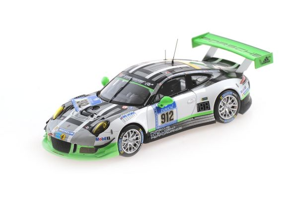 MINICHAMPS 1/43scale Porsche 911 GT3 R (991) LIETZ / BERGMEISTER / CHRISTENSEN / MAKOWIECKI # 912 Nürburgring 24H 2016  [No.437166612]
