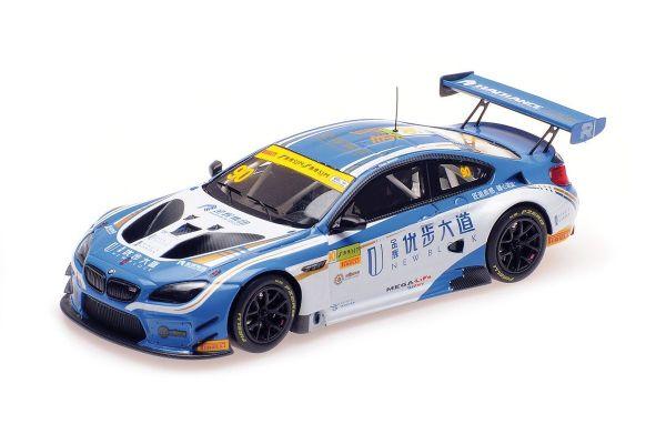 MINICHAMPS 1/43scale BMW M6 GT3 – FIRST TEAM AAI – MOSTERT – MACAU GT CUP – FIA GT WORLD CUP 2017  [No.437172690]