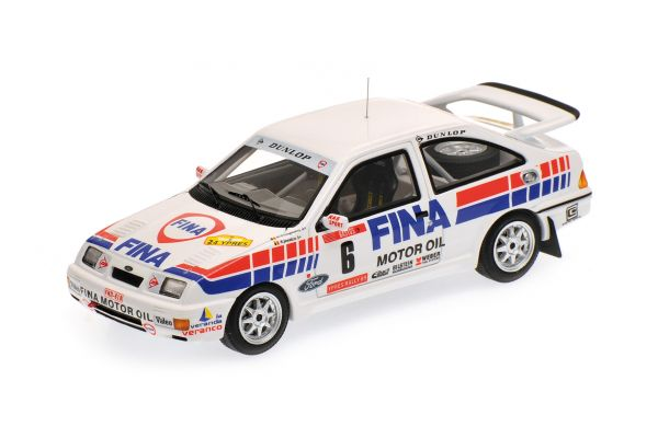 MINICHAMPS 1/43scale FORD SIERRA RS COSWORTH – DROGMANNS/JOOSTEN – WINNER RALLY YPRES 1989  [No.437898006]