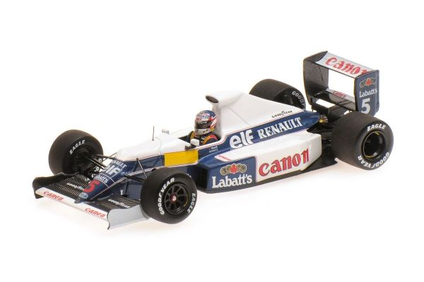 MINICHAMPS 1/43scale WILLIAMS RENAULT FW13B – NIGEL MANSELL – TEST SESSION  [No.437910105]