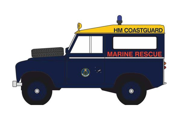 OXFORD 1/43scale Land Rover Series 3 SWB Station Wagon HM Coastguard  [No.OX43LR3S007]