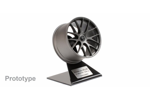 MINICHAMPS 1/5scale Porsche GT3 RS Magnesium Wheel 2020 Platinum Satin  [No.500603991]