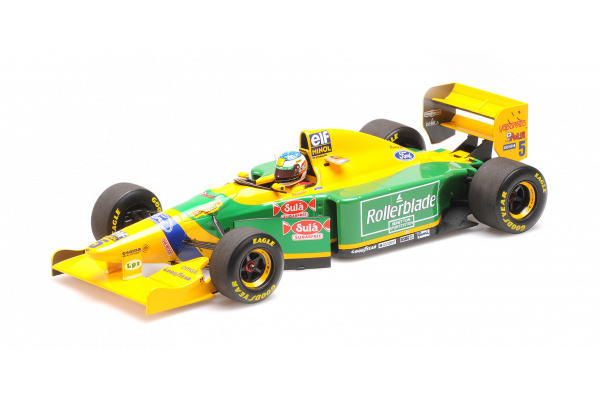 MINICHAMPS 1/18scale Benetton Ford B193 Michael Schumacher Canada GP 1993 2nd place  [No.510932505]