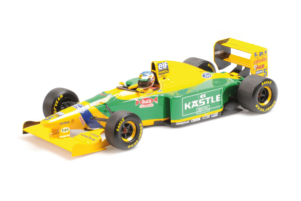 MINICHAMPS 1/18scale Benetton Ford B193 M Schumacher Germany GP1993  [No.510932805]