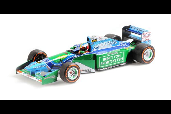 MINICHAMPS 1/18scale Benetton Ford B194 Mick Schumacher Belgium GP Demonstration Run 2017  [No.510941705]