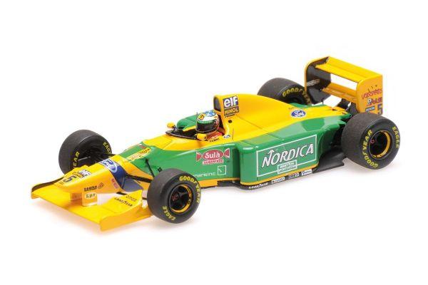MINICHAMPS 1/43scale BENETTON FORD B193B – MICHAEL SCHUMACHER – WINNER PORTUGUESE GP 1993  [No.517935705]