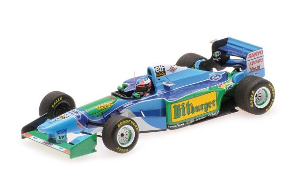 MINICHAMPS 1/43scale BENETTON FORD B194 - MICHAEL SCHUMACHER - AUSTRALIAN GP 1994 L.E. 1994 pcs.  [No.517941605]