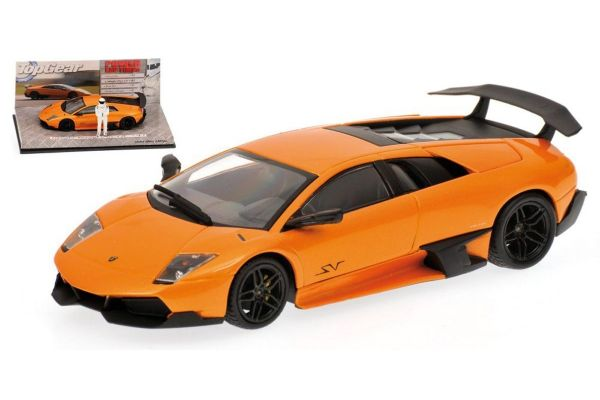 MINICHAMPS 1/43scale LAMBORGHINI MURCIELAGO LP 670-4 SV – 2009 – ORANGE – TOP GEAR [No.519431031]