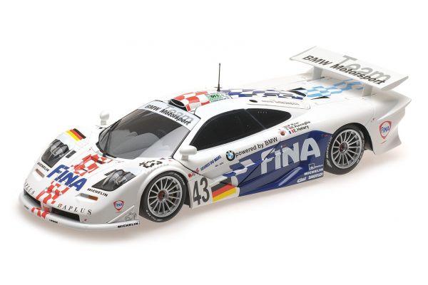 MINICHAMPS 1/18scale MCLAREN F1 GTR – BMW MOTORSPORT – KOX/RAVAGLIA/HÉLARY – 24H LE MANS 1997  [No.530133743]