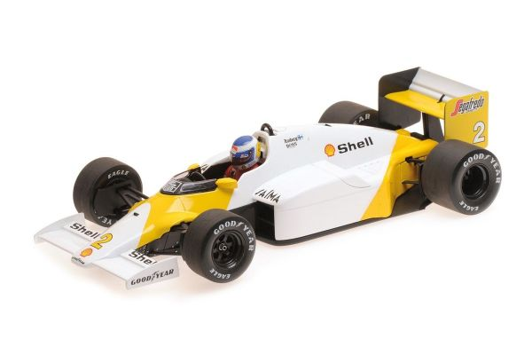 MINICHAMPS 1/18scale MCLAREN TAG MP4/2C - KEKE ROSBERG - PORTUGUESE GP 1986  [No.530861892]