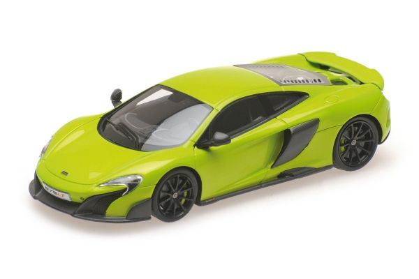 MINICHAMPS 1/43scale MCLAREN 675LT COUPÉ – 2015 – NAPIER GREEN  [No.537154422]