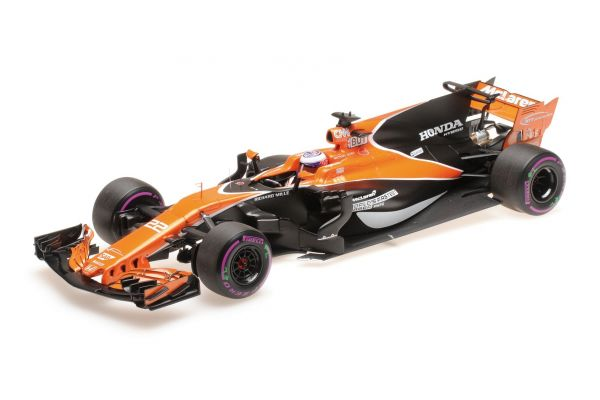 MINICHAMPS 1/18scale MCLAREN HONDA MCL32 – JENSON BUTTON – MONACO GP 2017  [No.537171822]