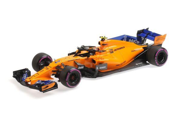 MINICHAMPS 1/18scale MCLAREN RENAULT MCL33-STOFFEL VANDOORNE-LAST F1 RACE ABU DHABI GP 2018  [No.537183902]