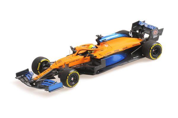 MINICHAMPS 1/43scale McLaren Renault MCL35 Land Norris 2020 LAUNCH SPEC  [No.537204304]