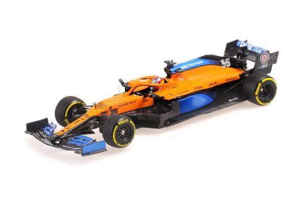 MINICHAMPS 1/43scale McLaren Renault MCL35 Carlos Sainz Jr. 2020 LAUNCH SPEC  [No.537204355]