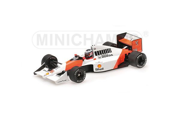 MINICHAMPS 1/43scale McLaren Honda MP4 / 5B Gerhard Berger Brazilian GP 1990 2nd place prize  [No.537904328]