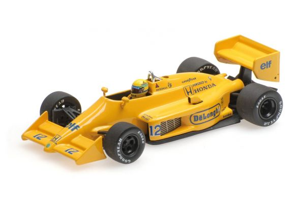 MINICHAMPS 1/43scale LOTUS HONDA 99T – AYRTON SENNA – WINNER MONACO GP 1987  [No.540874392]