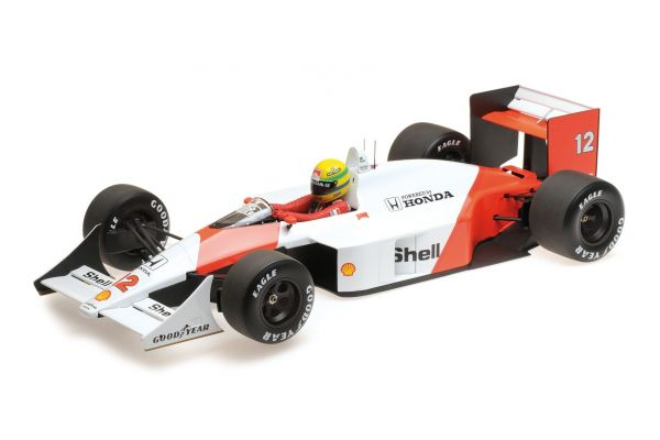 MINICHAMPS 1/12scale MCLAREN HONDA MP4/4 – AYRTON SENNA – WORLD CHAMPION 1988  [No.540881212]