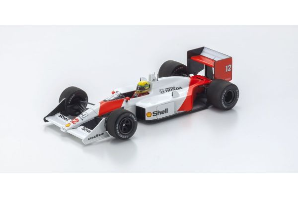 MINICHAMPS 1/43scale MCLAREN HONDA MP4/4 – AYRTON SENNA – 1ST WIN WITH MCLAREN SAN MARINO GP 1988  [No.547884212]