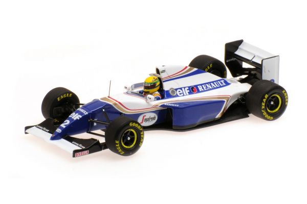 MINICHAMPS 1/43scale WILLIAMS RENAULT FW16 – AYRTON SENNA – BRAZIL GP 1994  [No.547940102]