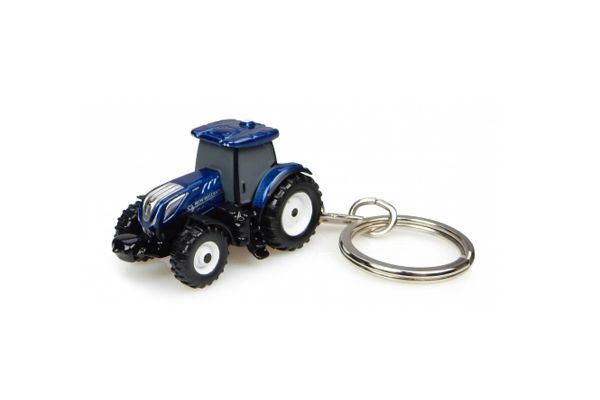 UNIVERSAL HOBBIES scale NewHolland T7.225 BluePower キーリング  [No.E5814]
