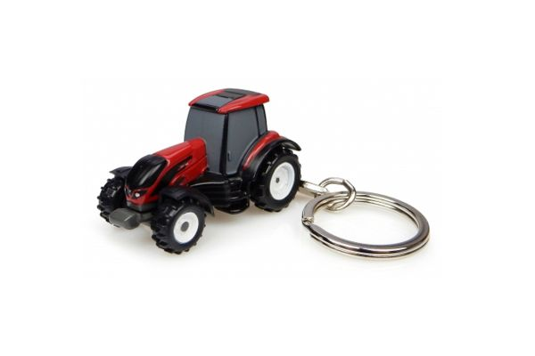 UNIVERSAL HOBBIES scale Valtra T4 Series Tractor キーリング  [No.E5818]