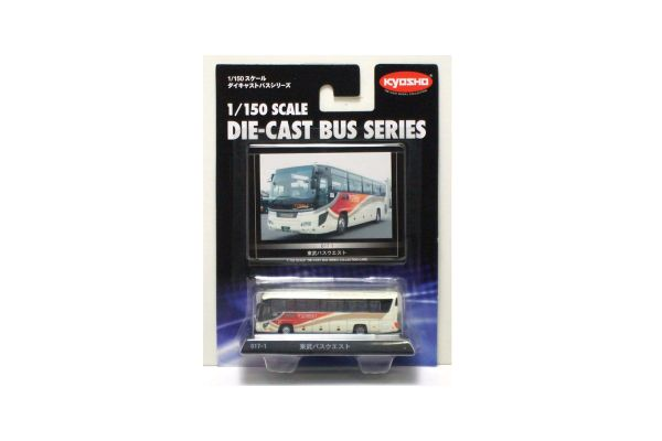 KYOSHO 1/150scale Tobu Bus West(Hino Selega High-Decker)  [No.59017]
