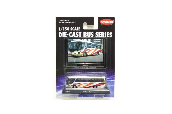 KYOSHO 1/150scale Kintetsu Bus (Hino selega High-Decker)  [No.59037]