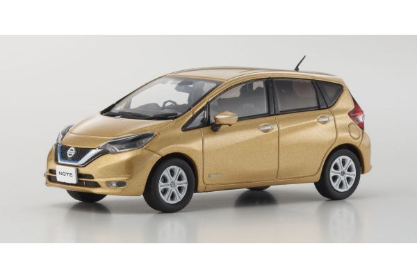 KYOSHO 1/43scale Nissan Note e-Power X Galaxy Gold  [No.KS03667GL]