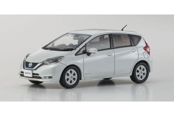 KYOSHO 1/43scale Nissan Note e-Power X Brilliant White  [No.KS03667BW]