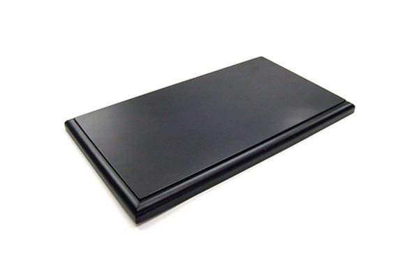 KYOSHO 1/18 Display Wooden Base (Black)  [No.7296]