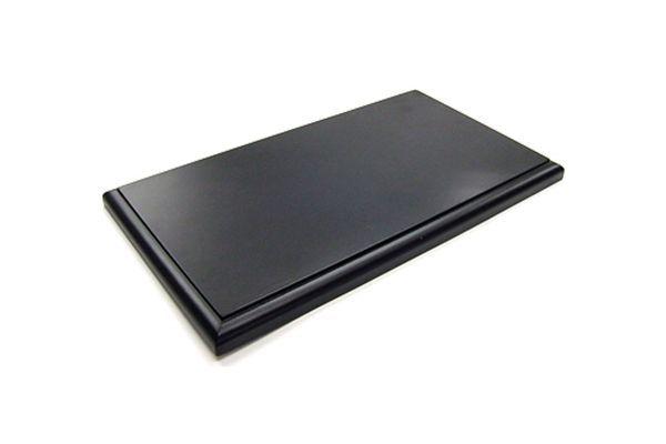 京商 オリジナル 1/18 ディスプレイ木製ベース ブラック 7303