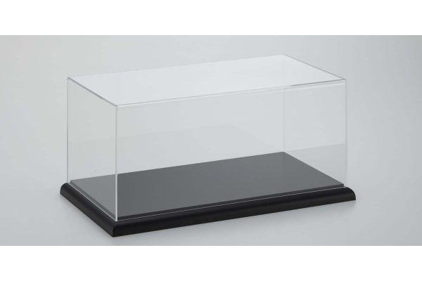 京商 オリジナル 1/18 ディスプレイケース & 木製ベース ブラック 7303SET